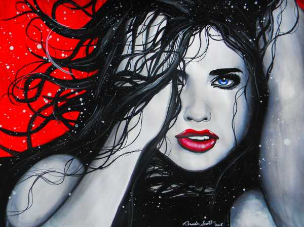 Adriana Lima by Brandon Scott Art